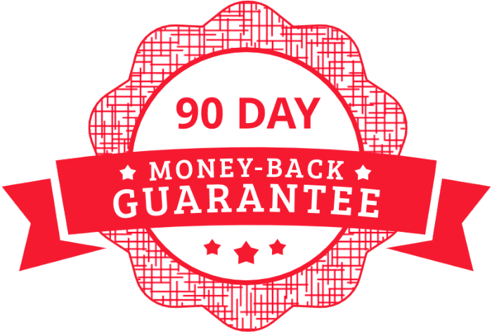 90-Day Money-Back Guarantee